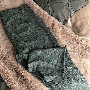 LOFT plaid pants